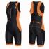 2XU Perform Front Zip trisuit black/pink women   WT3635d