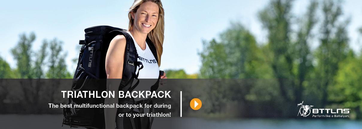 BTTLNS triathlon backpack